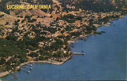 Lucerne, California Postcard