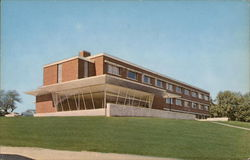 Woodward Hall at Gorham State Teachers College - Men's Residence Hall Postcard