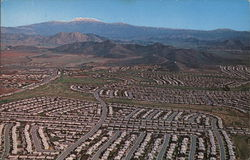 Aerial View of Active Retirement Community on Highway 395