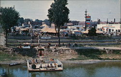 Festival Grounds Postcard