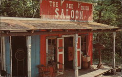 The Red Onion Saloon Postcard