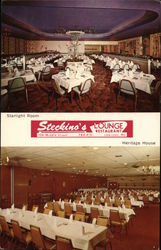 Steckino's Lounge Restaurant, Starlight Room, Heritage House