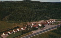 Aerial View of Meadowbrook Motel and Cabins, U.S. 1