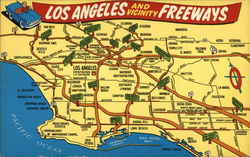 Los Angeles and Vicinity Freeways