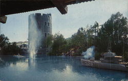 Lagoon in the Upper Lot at Universal Studios