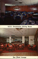 Portlander, In-Town Motel, U.S.S. Constitution Dining Room