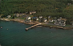 Aerial View of the Inn and Motel