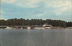 Harrison Bay State Park, Restaurant and Boat Deck
