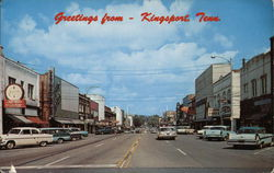 Greetings - Looking North on Broad Street