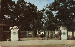 Entrance, Memphis Zoological Gardens