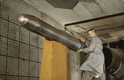 Titan Missile in Propulsion Wind Tunnel, Arnold Engineering Development Center