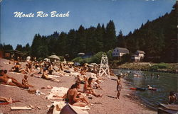 Monte Rio Beach on the Russian River