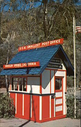 United States Smallest Post Office Postcard