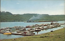The Ohio River at Madison Postcard
