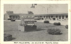 West-Villa Motel, Jct. U.S. 6 & 421