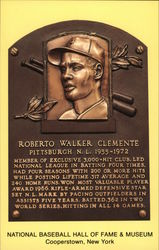 Roberto Walker Clemente Plaque