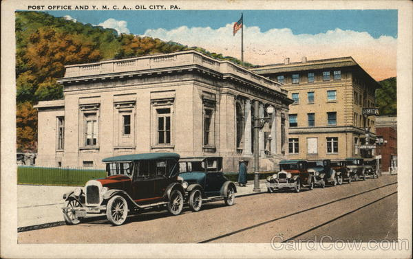 Post Office and Y.M.C.A. Oil City Pennsylvania