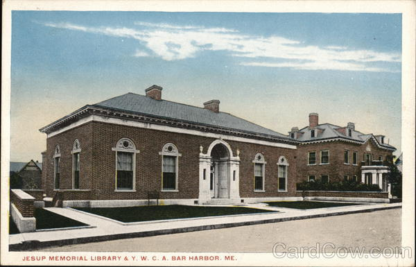 Jesup Memorial Library & Y.W.C.A. Bar Harbor Maine