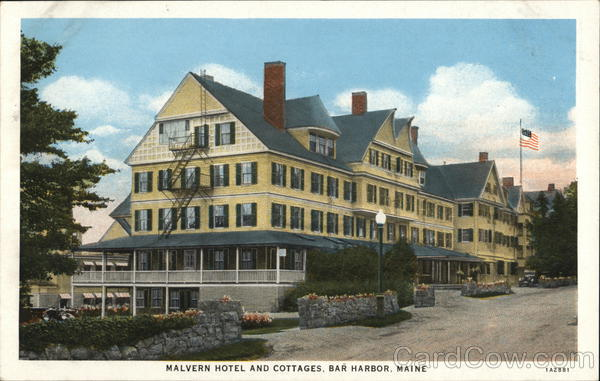 Halvern Hotel and Cottages Bar Harbor Maine