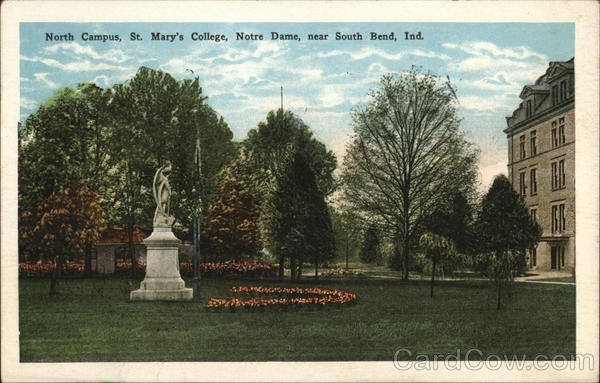 North Campus, St. Mary's College, Notre Dame South Bend Indiana