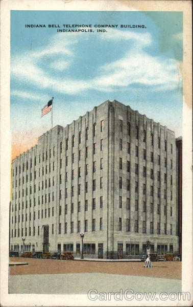 indiana bell telephone company building indianapolis  in
