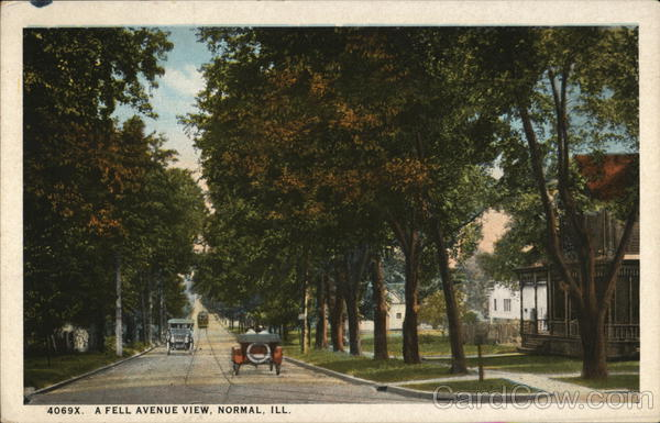 A Fell Avenue View Normal Illinois