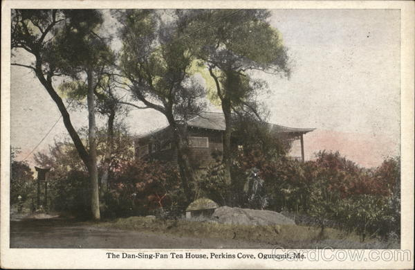 The Dan-Sing-Fan Tea House - Perkins Cove Ogunquit Maine