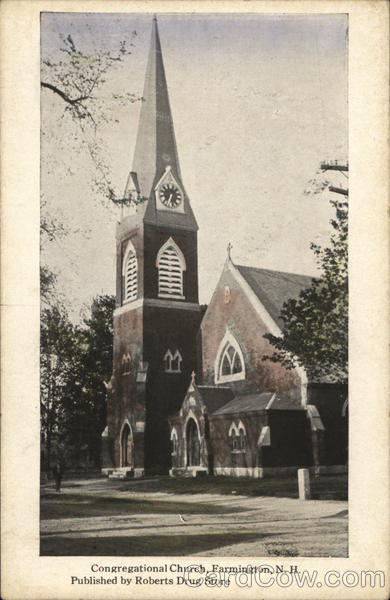 Congregational Church Farmington New Hampshire