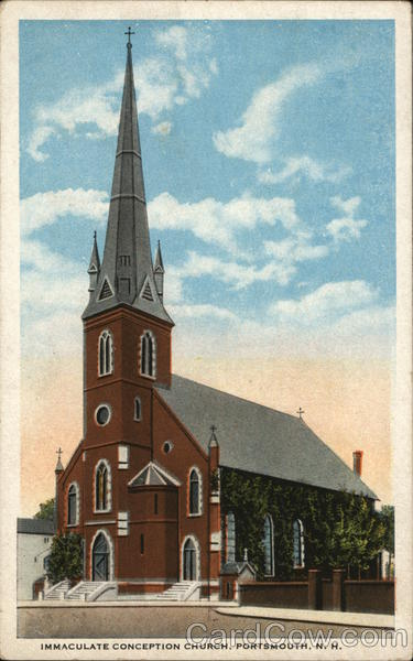 Immaculate Conception Church Portsmouth New Hampshire