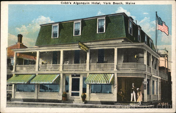 Cobb's Algonquin Hotel York Beach Maine