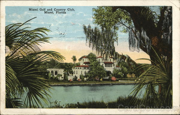 Golf and Country Club Miami Florida