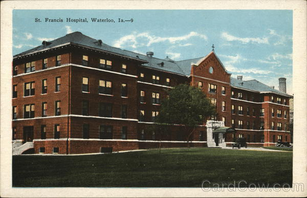 St Francis Hospital and Grounds Waterloo Iowa
