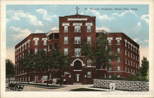 Street View of St Vincent Hospital Sioux City Iowa
