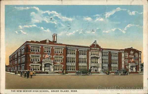 The New Senior High School Grand Island Nebraska
