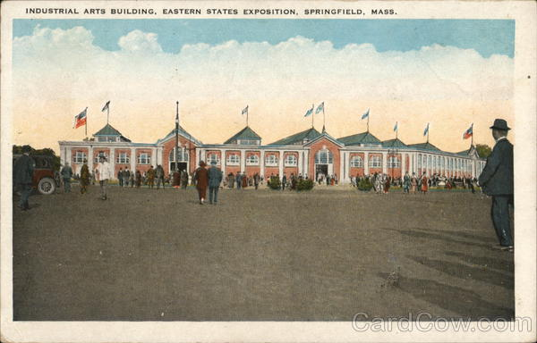 Industrial Arts Building, Eastern States Exposition Springfield Massachusetts