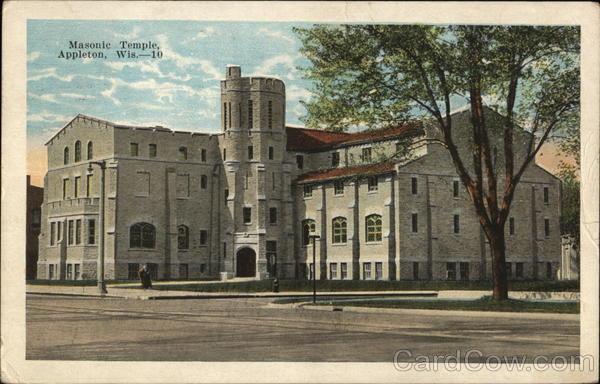 Masonic Temple Appleton Wisconsin