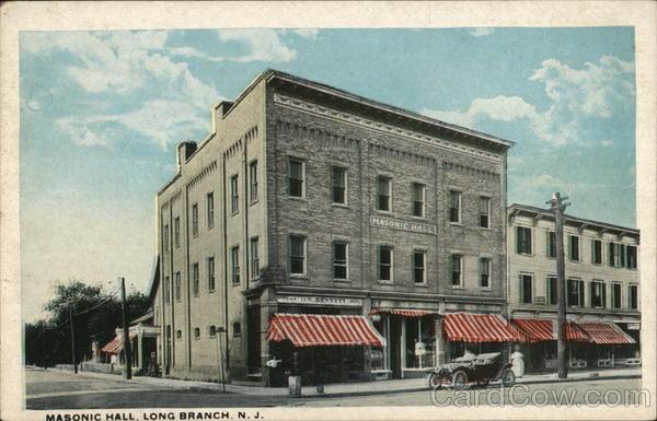 Masonic Hall Long Branch New Jersey
