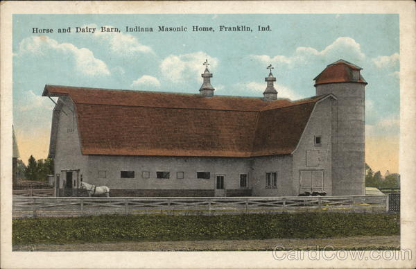 Horse and Dairy Barn, Indiana Masonic Home Franklin