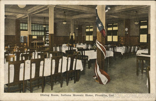 Dining Room, Indiana Masonic Home Franklin