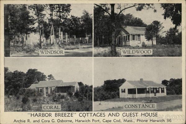 Harbor Breeze Cottages and Guest House Harwich Massachusetts