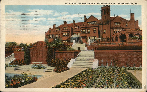 R.B. Mellon Residence, 6500 Fifth Ave. Pittsburgh Pennsylvania