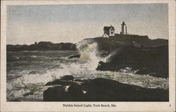 Nubble Island Light