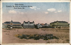 Three Hotels, Young's, Wahnita & Fairmount Hotels