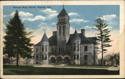 Wabash HighSchool Postcard