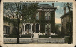 Home of the Late James Whitcomb Riley