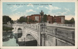 Capitol Ave. Bridge and St. Vincent's Hospital