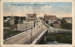 Main Street, Looking North, Showing Viaduct