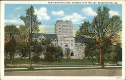 New Union Building, University of Indiana