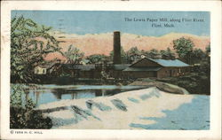 The Lewis Paper Mill, Along Flint River