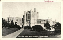 Stephens Union Building, University of California
